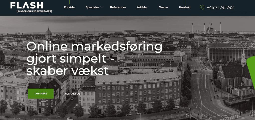 Flash.dk WP hjemmeside